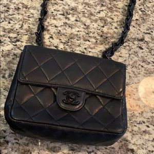 Vintage Chanel quilted small bag